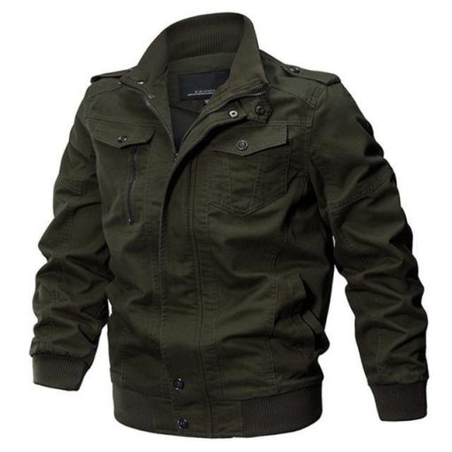 military jacket army green